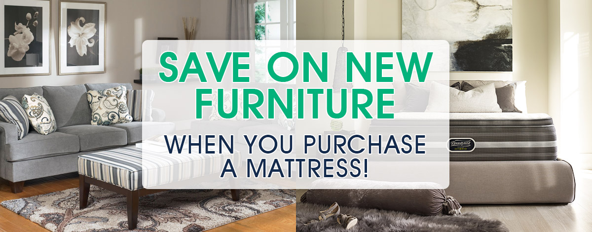 Special promotions deals on mattresses or home furniture for Deals furniture and mattress outlet