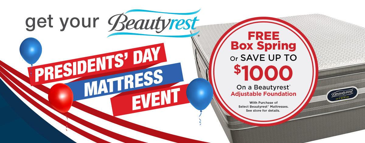 Presidents Day Mattress Sale Special Offer Mattress Sale